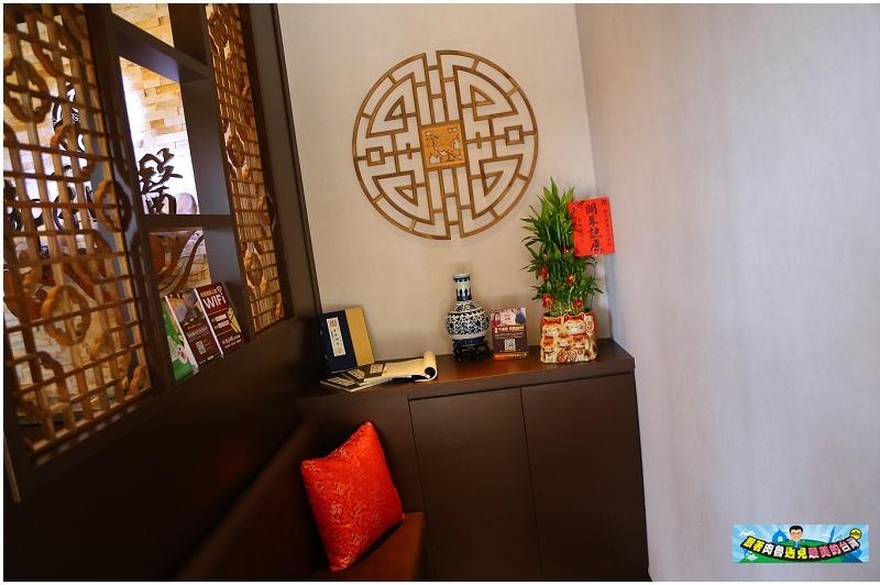 御手國醫安平會館內洋溢著東方古典風的設計